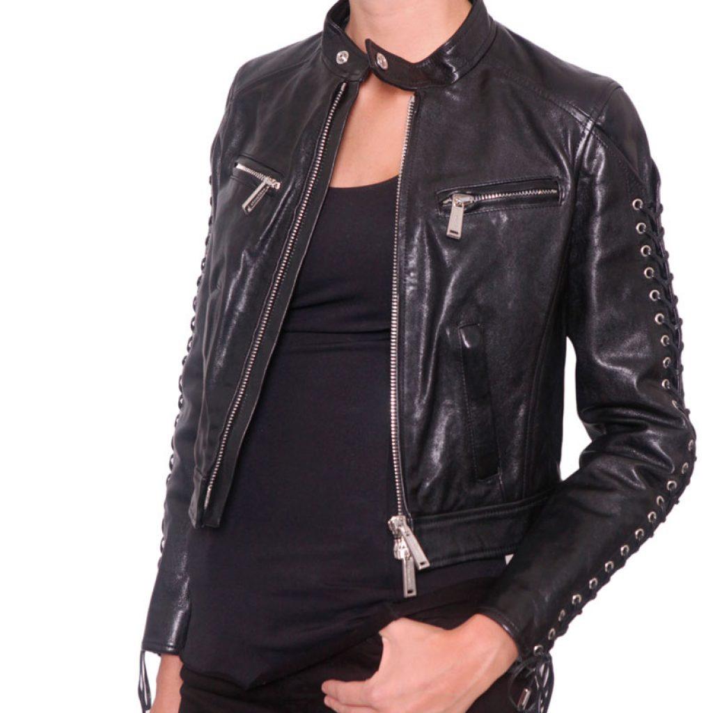 Куртка кожаная женская 17 — Ателье по коже