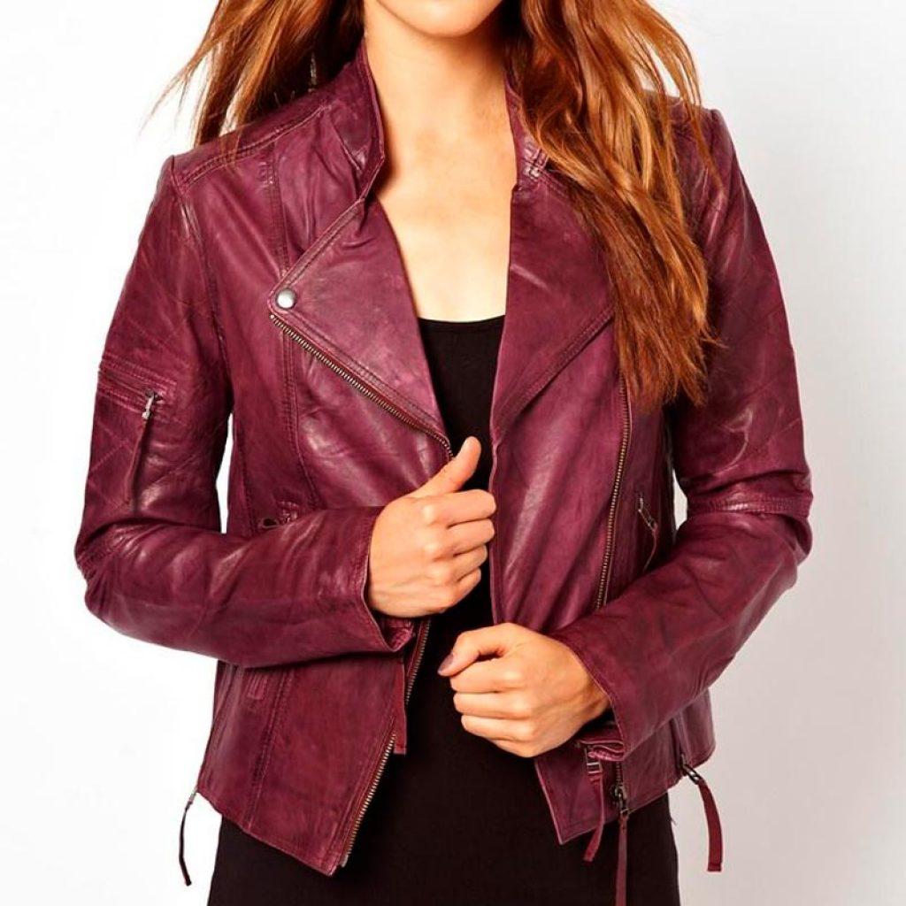 Куртка кожаная женская 19 — Ателье по коже