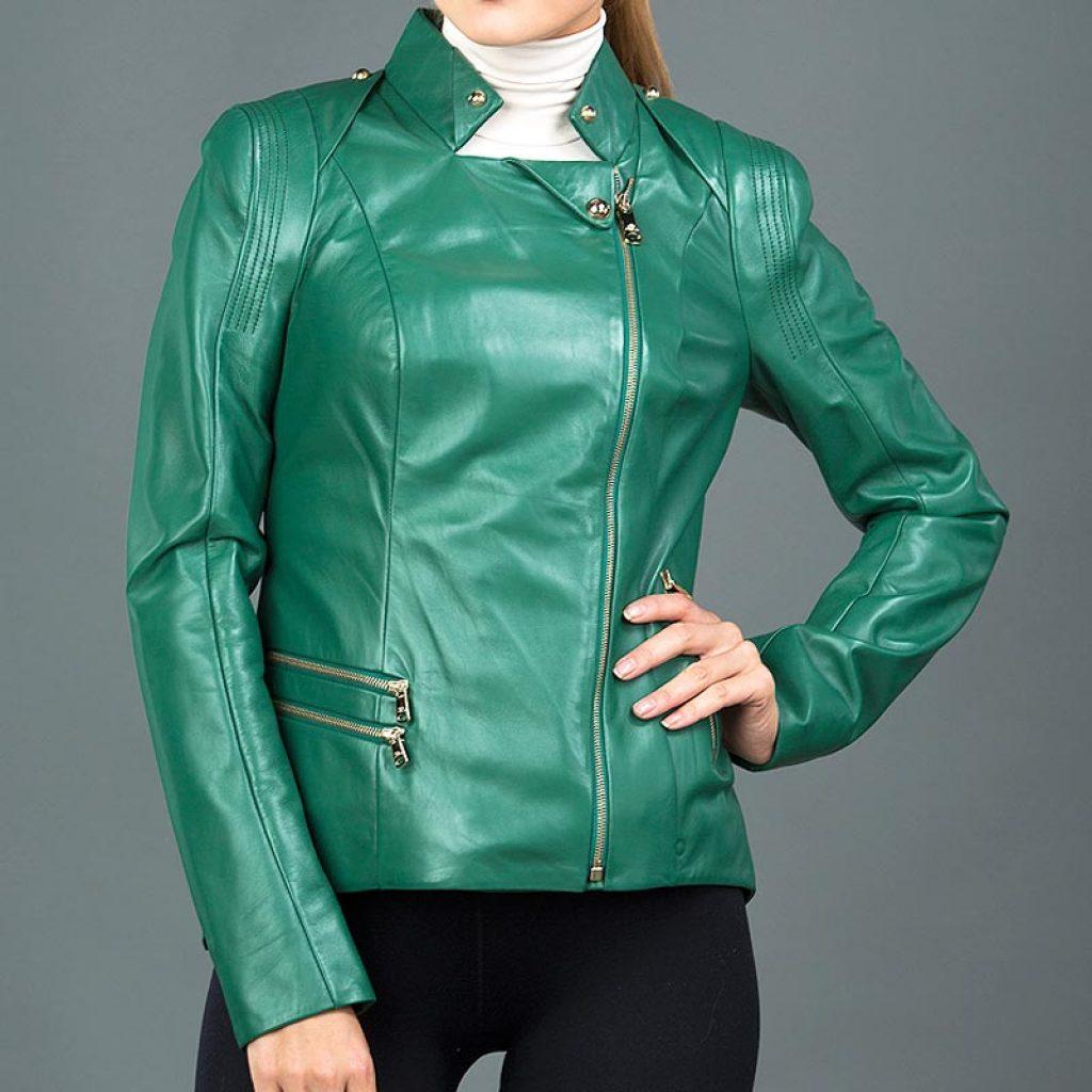 Куртка кожаная женская 20 — Ателье по коже
