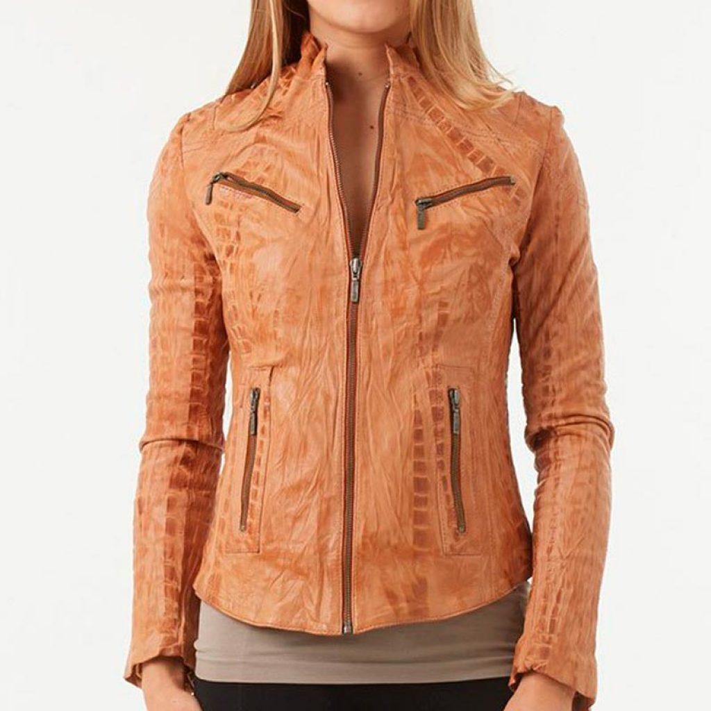 Куртка кожаная женская 21 — Ателье по коже