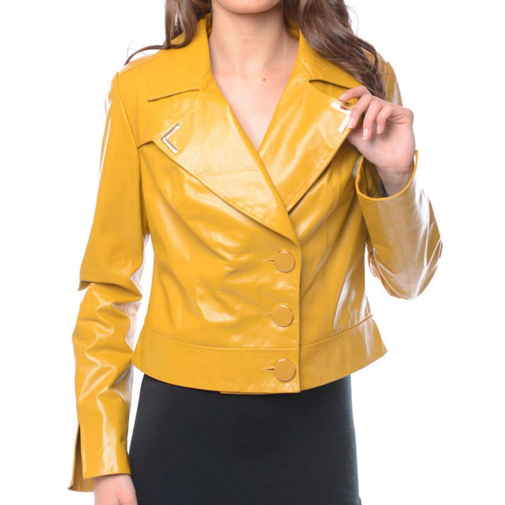 Куртка кожаная женская 22 — Ателье по коже