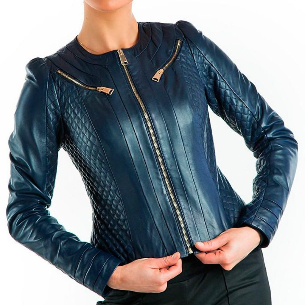 Куртка кожаная женская 24 — Ателье по коже