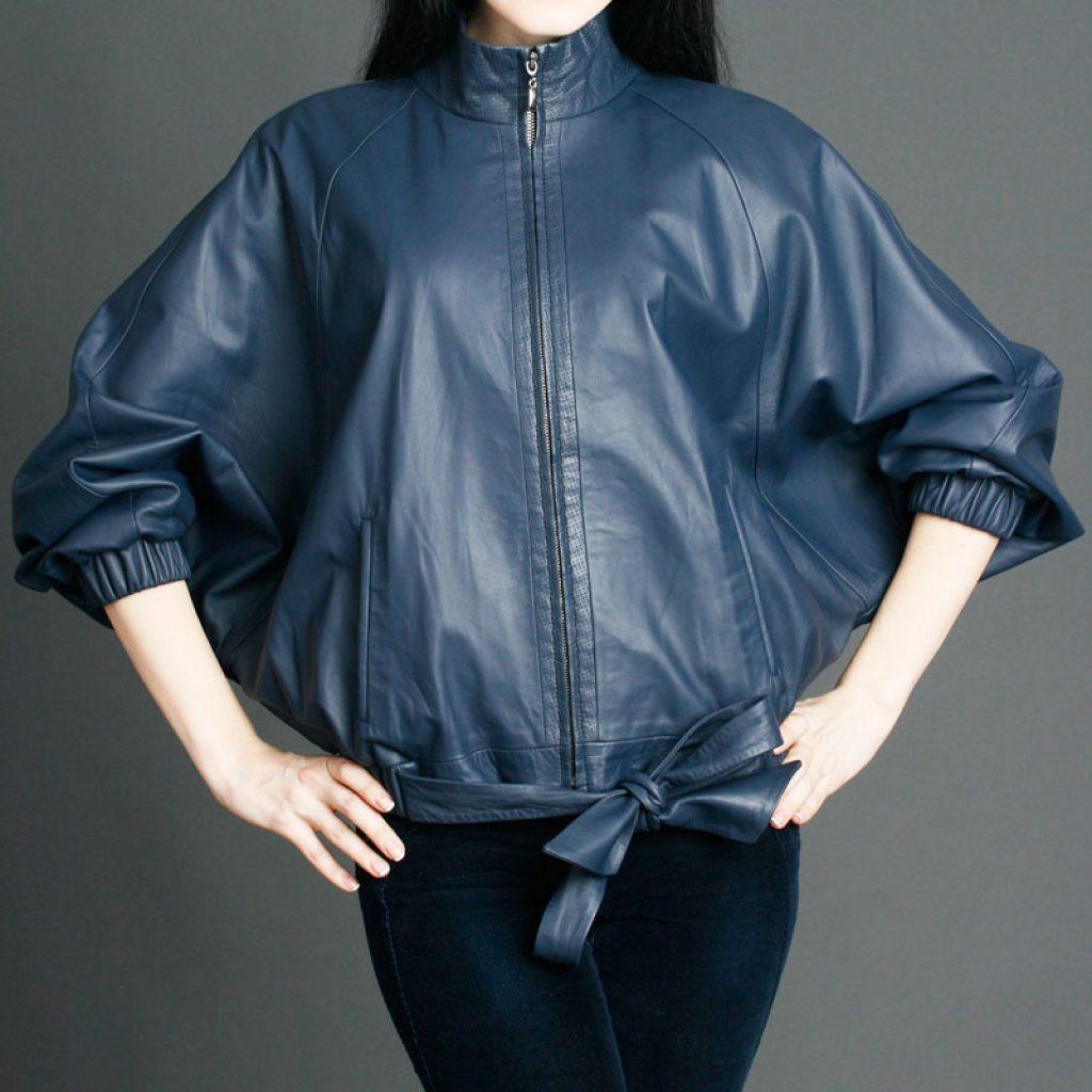 Куртка кожаная женская 26 — Ателье по коже