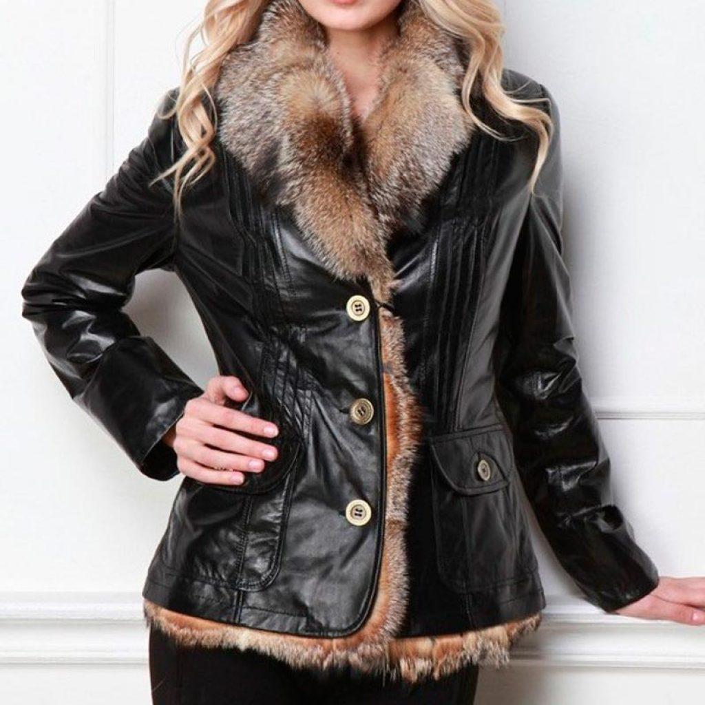 Куртка кожаная женская 5 — Ателье по коже