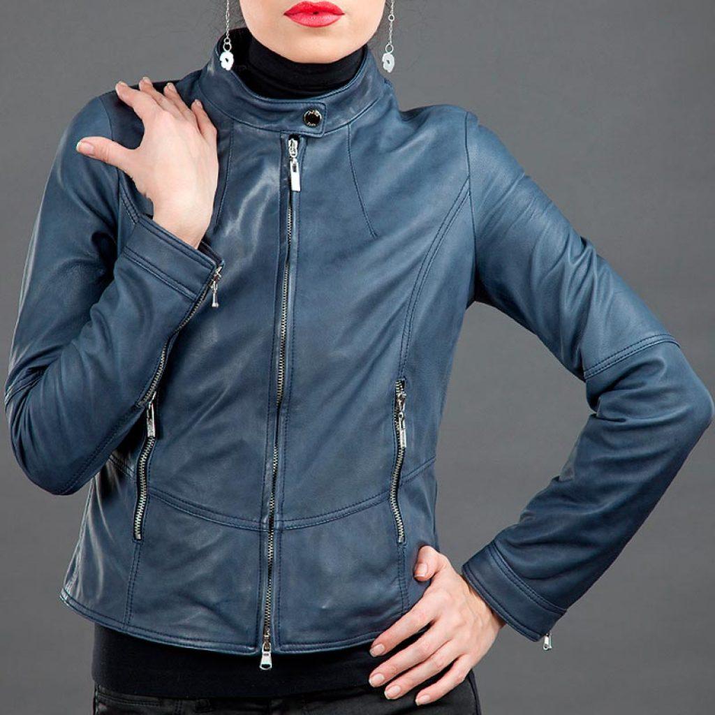 Куртка кожаная женская 9 — Ателье по коже