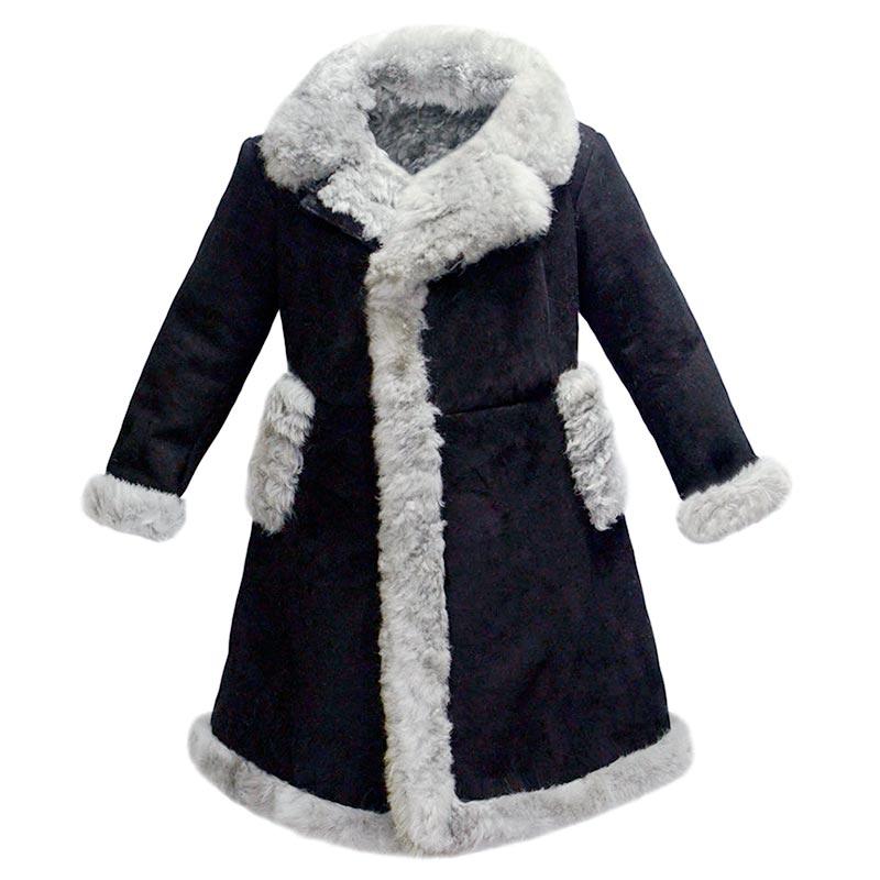 Тулуп бекеша — лучший вариант для зимних выездов на природу.