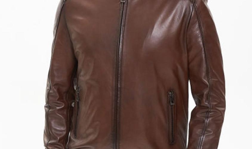 Куртка бомбер и куртка пилот мужская пошив Ателье по коже - 1