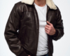 Куртка бомбер и куртка пилот мужская пошив Ателье по коже - 4