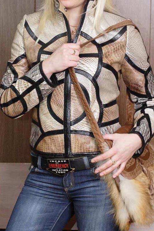 Куртка кожаная от Ателье по коже Чебоксары - фото 1