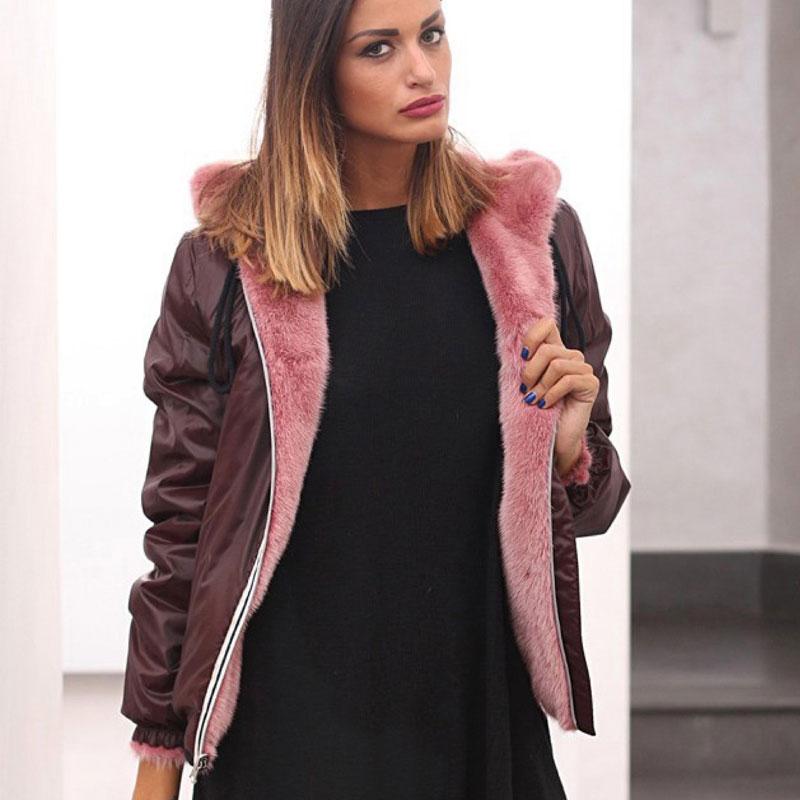 Куртка зимняя женская норковая от Ателье по коже Чебоксары – фото 2