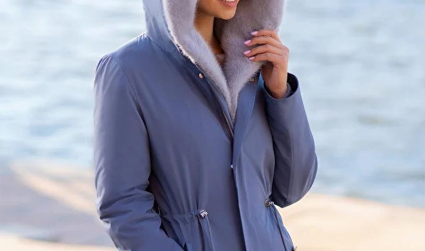 Куртка зимняя женская норковая парка от Ателье по коже Чебоксары – 1